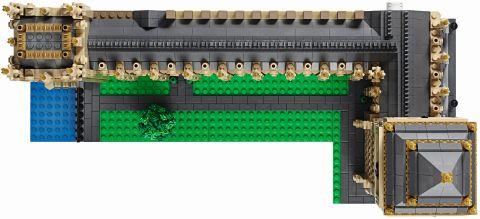 #10253 LEGO Creator Big Ben Top View