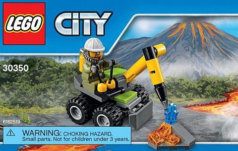#30350 LEGO City Volcano