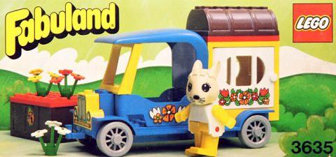 #3635 LEGO Fabuland Bunny Camper