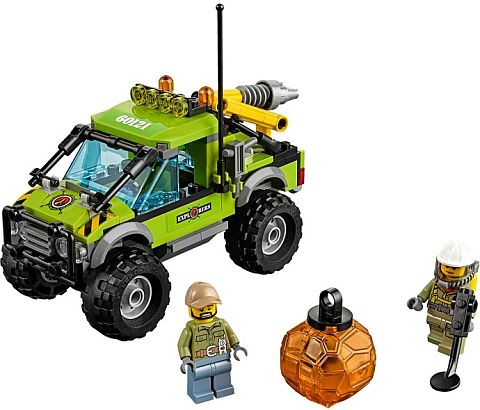 #60121 LEGO City Volcano