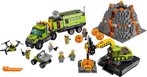 #60124 LEGO City Volcano