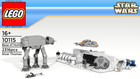 #75098 LEGO Star Wars Assault on Hoth Alternate