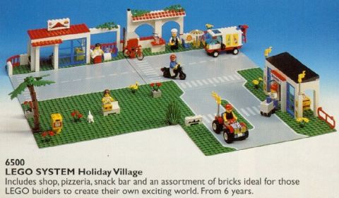 Canceled LEGO Sets #6500 LEGO Town