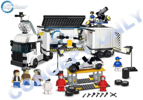 Canceled LEGO Sets Top Gear