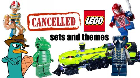 Canceled LEGO Sets