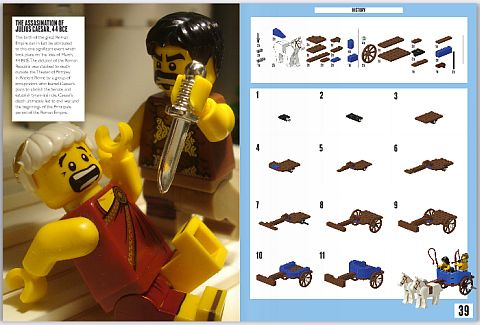 LEGO Brick History Book Details