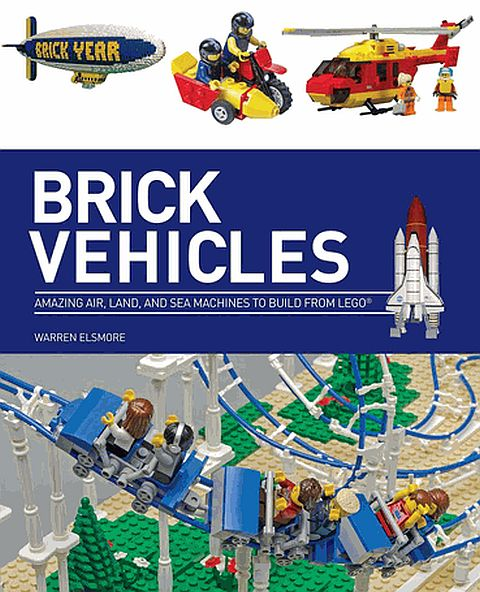 LEGO Brick Vehicles Book Cover