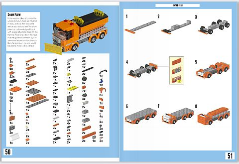 LEGO Brick Vehicles Book Instructions