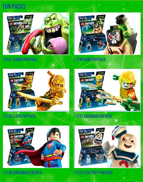 LEGO Dimensions Fifth Wave Packs