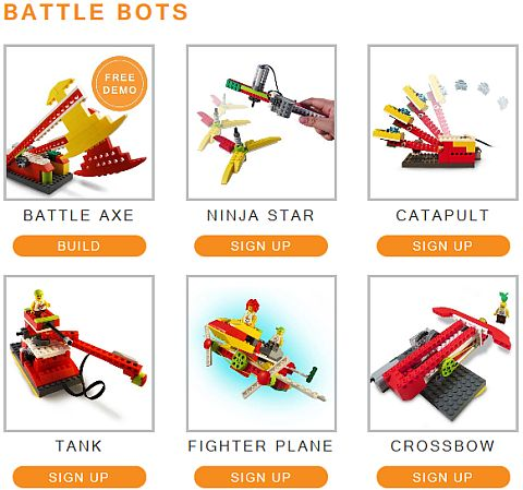 LEGO Education WeDo Yantra Robotics Battle Bots
