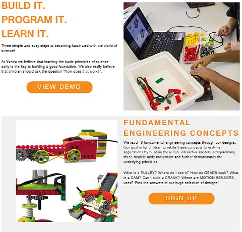 LEGO Education WeDo Yantra Robotics