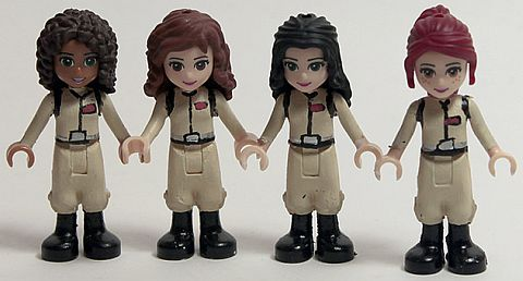 LEGO Friends Custom Figures by .SilentMode