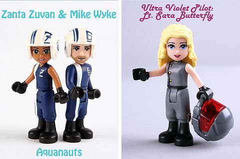 LEGO Friends Custom Figures by Mark Stafford
