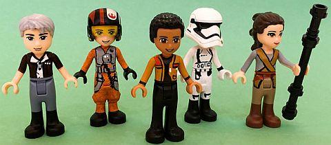 LEGO Friends Custom Figures by Melan-E