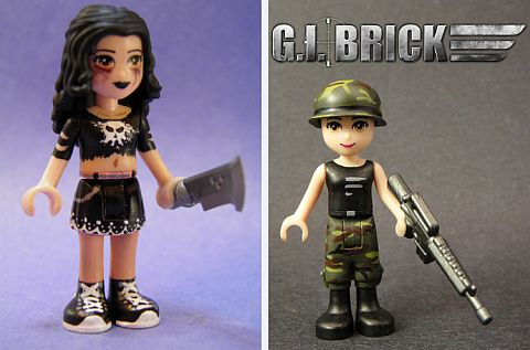 LEGO Friends Custom Figures by Tyler Thomson & Victor Hernandez