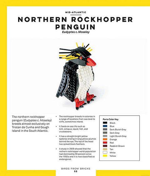 LEGO Ideas Birds from Bricks 2