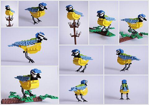 LEGO Ideas Birds from Bricks 9