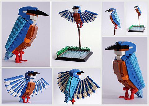 LEGO Ideas Birds from Bricks 92