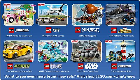 LEGO Store Calendar June Offers New Sets