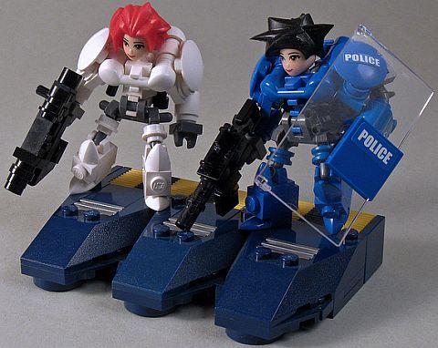 LEGo Friends Custom Figures by Larry Lars