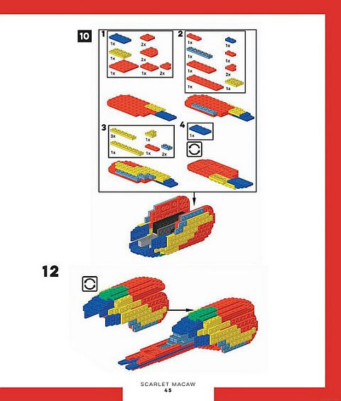 LEGo Ideas Birds from Bricks 3
