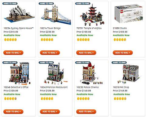 Shop LEGO Buildings