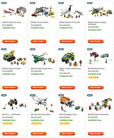 Shop LEGO City Summer Sets