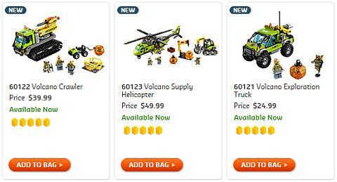 Shop LEGO City Volcano