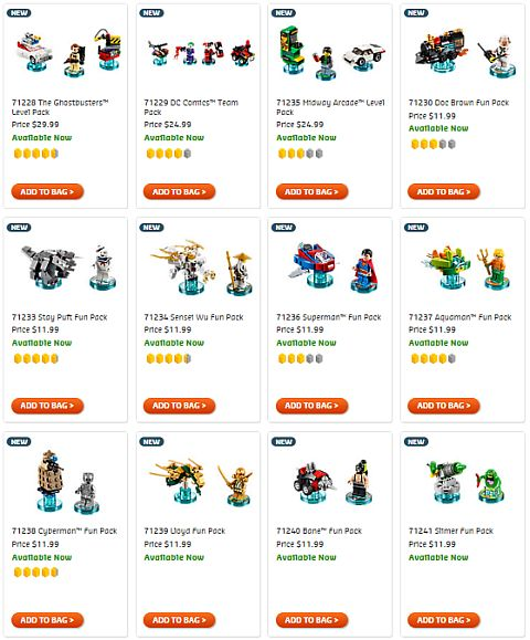 Shop LEGO Dimensions Fifth Wave