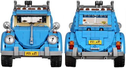 #10252 LEGO Creator Volkswagen Details