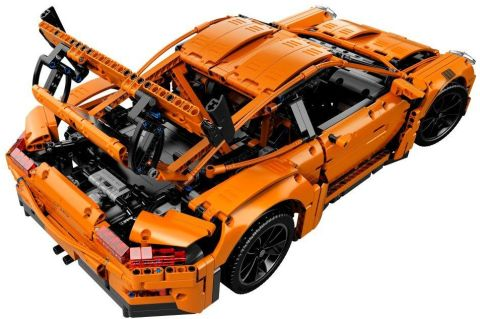 #42056 LEGO Technic Porsche Back