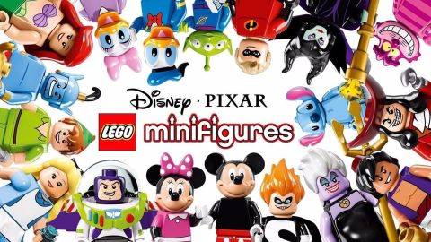 LEGO Disney Minifigures List