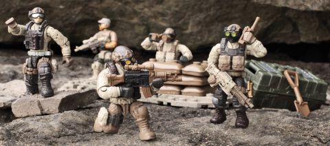 LEGO & Mega Bloks Desert Troopers