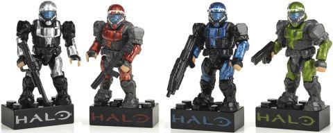 LEGO & Mega Bloks Halo Metallic