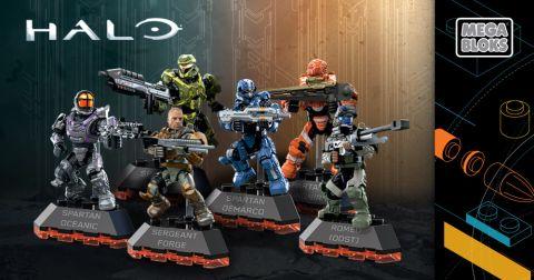 LEGO & Mega Bloks Halo Series 2