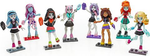 LEGO & Mega Bloks Monster High