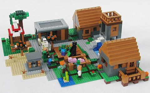 LEGO Minecraft The Village Review 2