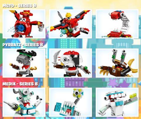 LEGO Mixels Summer Sets Review