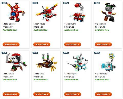 Shop Summer LEGO Mixels Sets