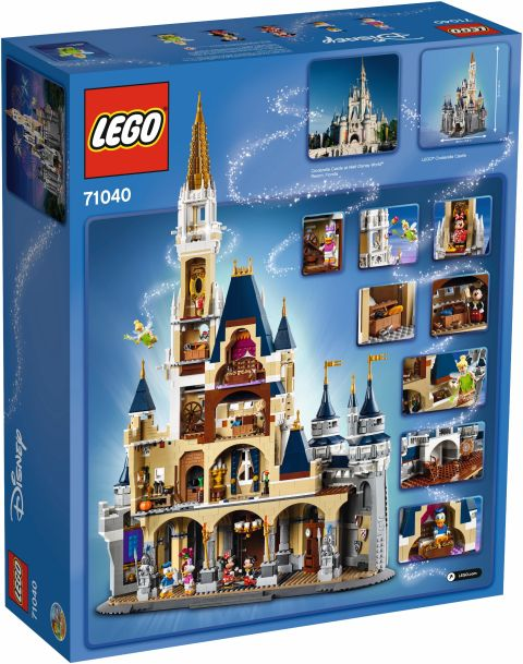 #71040 LEGO Disney Castle 4