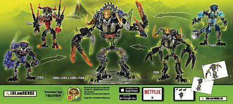 LEGO BIONICLE Combo Model