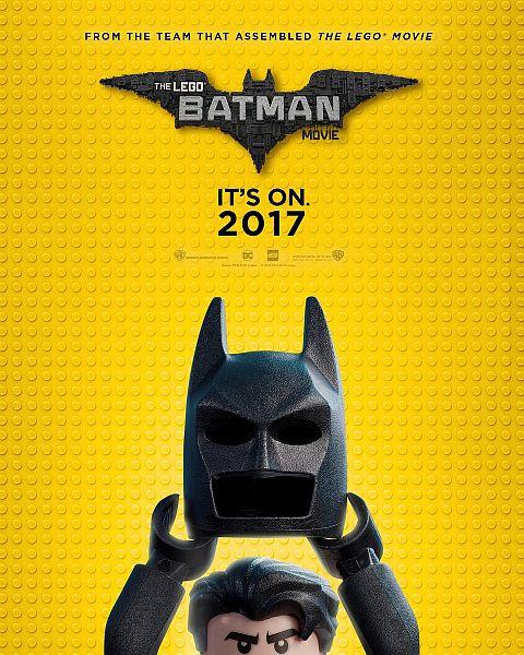 LEGO Batman 2017 Movie Poster
