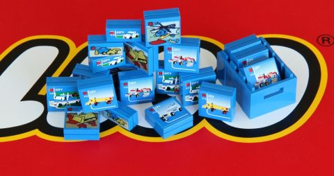 SHEET 3 LEGO City 60097 Town City Square STICKER SHEET