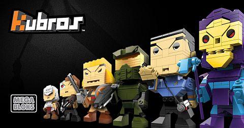 LEGO Brickheadz MegaBloks Kubros