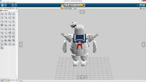 LEGO Ghostbusters Stay Puft Marshmallow Man by Brent Waller 6