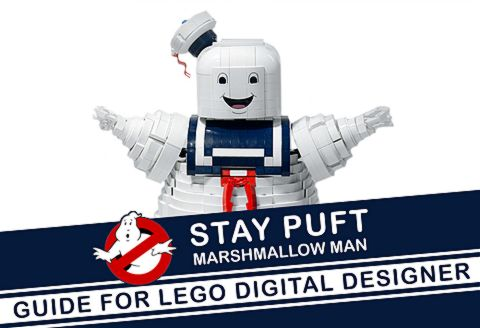 LEGO Ghostbusters Stay Puft Marshmallow Man by Brent Waller