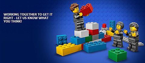 Online LEGO Shop Update Survey