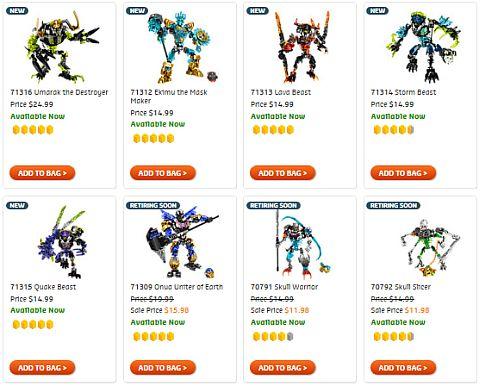 Shop Bionicle