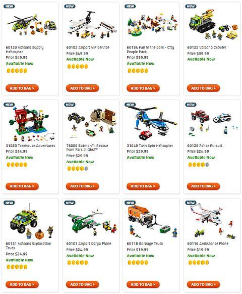 Shop July LEGO Sets