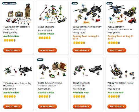 Shop LEGO Batman